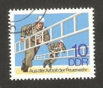 Stamps Germany -  1946 - Intervencion de los bomberos