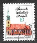 Stamps Germany -  1287 - Edificio de Berlín