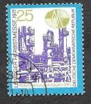 Stamps Germany -  1325 - Feria de Otoño de Leipzig