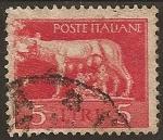 Sellos de Europa - Italia -  Rómulo y Remo