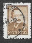 Stamps Poland -  438 - Bolesław Bierut