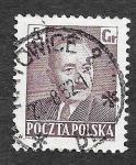 Sellos de Europa - Polonia -  490 - Bolesław Bierut