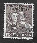 Stamps Poland -  539 - Congreso de la Asociación Filatélica Polaca