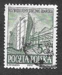 Sellos de Europa - Polonia -  560 - Reconstrucción de los Astilleros de Gdansk