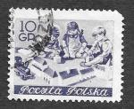 Sellos de Europa - Polonia -  605 - Niños Jugando