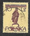 Sellos de Europa - Polonia -  669 - Monumento a Feliks Edmúndovich Dzerzhinski