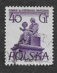 Stamps Poland -  672 - Monumento a Nicolas Copernico