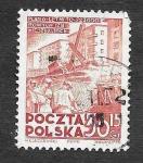 sellos de Europa - Polonia -  B68 - Construcción de Viviendas