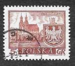 Stamps Poland -  947 - Ciudades Históricas