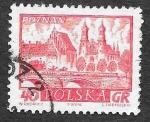 Sellos de Europa - Polonia -  950 - Ciudades Históricas