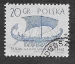 Sellos de Europa - Polonia -  1126 - Barcos Antiguos