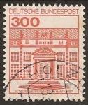 """Stamps Europe - Germany -  1982 Serie: """"Castillos y Palacios"""""""