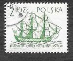 sellos de Europa - Polonia -  1210 - Barcos Antiguos