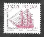 sellos de Europa - Polonia -  1211 - Barcos Antiguos