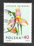 Sellos de Europa - Polonia -  1348 - Orquídeas