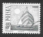 Stamps : Europe : Poland :  1441 - Barco