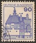 """Stamps Europe - Germany -  1978 Serie: """"Castillos y Palacios"""""""