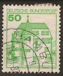 """Sellos del Mundo : Europa : Alemania : 1980 Serie: """"Castillos y Palacios"""""""