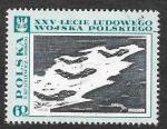Stamps Poland -  1619 - XXV Aniversario del Ejercito Popular de Polonia