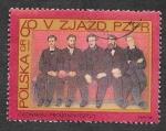 Sellos de Europa - Polonia -  1627 - V Congreso del Partido de los Trabajadores Polacos