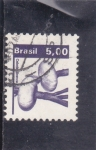Stamps Brazil -  CEBOLLA BLANCA