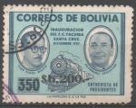 Sellos de America - Bolivia -  PRESIDENTES  SILES  ZUAZO  Y  ARAMBURU