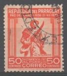 Stamps Paraguay -  SOLDADO  PARAGUAYO