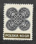Stamps Poland -  1823 - Arte Popular