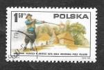 Stamps Poland -  2118 - Bicentenario de la Revolución Americana
