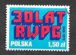 Sellos de Europa - Polonia -  2335 - XXX Aniversario Consejo de Ayuda Económica Mutua de los Países Socialistas