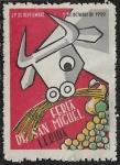 Stamps : Europe : Spain :  Feria de San Miguel - Lérida 1959