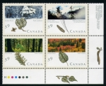 Stamps of the world : Canada :  las 4 estaciones