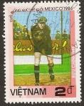 Sellos del Mundo : Asia : Vietnam : Copa Mundial de Fútbol Mexico 1986