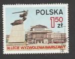 Stamps Poland -  30 Aniv. de la liberación de Varsovia