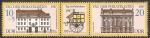 Sellos de Europa - Alemania -  2737 y 2738 - Edificios antiguos de Correos