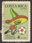 Sellos del Mundo : America : Costa_Rica : Copa Mundial de Fútbol Mexico 1986