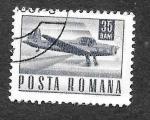 Stamps Romania -  1970 - Avión