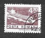 Sellos de Europa - Rumania -  2467 - Barco