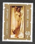 Sellos del Mundo : Europa : Hungría : 2298 - Pintura de Desnudos
