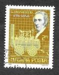 Sellos del Mundo : Europa : Hungría : 2697 - Bicentenario del Nacimiento de George Stephenson