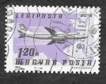 Sellos de Europa - Hungría -  C378 - Avión