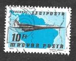 Sellos de Europa - Hungría -  C383 - Avión