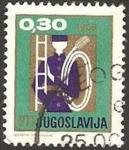 Stamps Yugoslavia -  Bombero