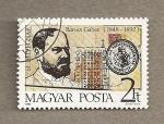 Sellos de Europa - Hungría -  Gabor Baross, ministro de comercio y comunicaciones