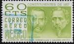 Sellos de America - México -  Constituyentes de 1857: León Guzmán e Ignacio Ramírez