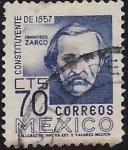 Sellos del Mundo : America : México : Constituyente de 1857: Francisco Zarco