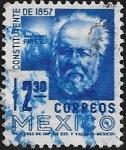 Sellos del Mundo : America : México : Constituyente de 1857: Guillermo Prieto