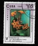 Stamps : America : Cuba :  V congreso latinoamericano de botánica
