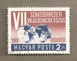 Stamps Hungary -  VII Congreso de la Federación Mundial del Trabajo