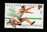 Stamps : Europe : Bulgaria :  Juegos Olímpicos Barcelona